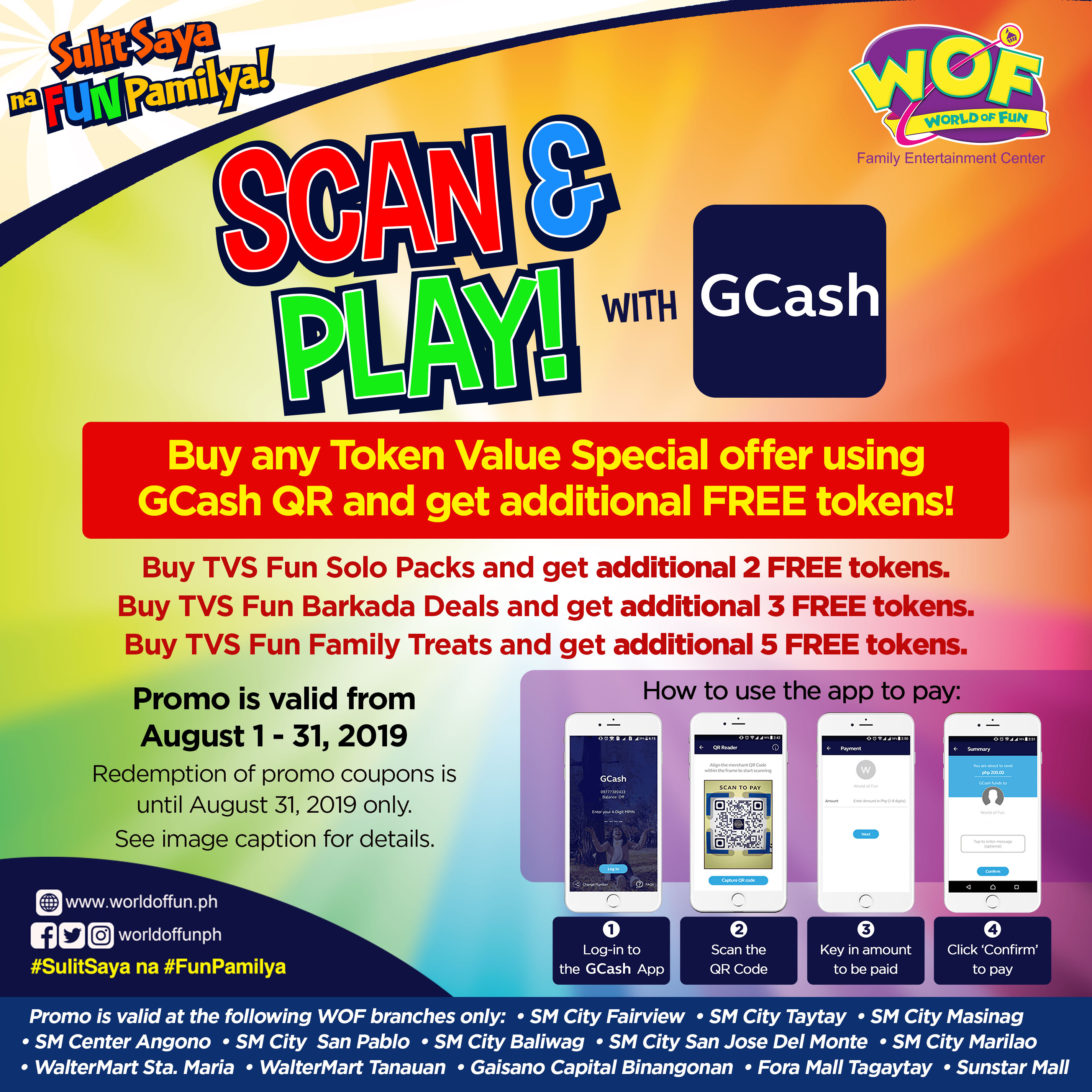 GCash Scan and Play